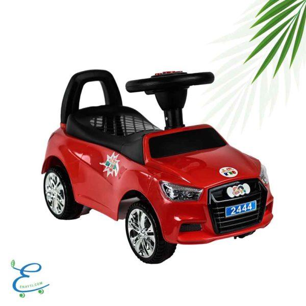 كيكو سيارة تعلم المشى بموسيقى لون-احمر